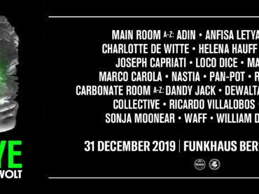 HYTE NYE Berlin 2019 announces full line up