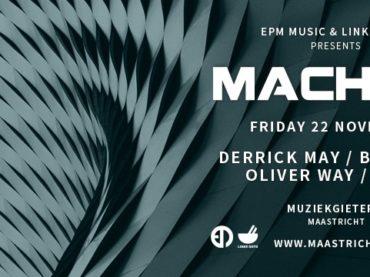 MACHINE featuring Derrick May, Ben Sims, Oliver Way & Dayak