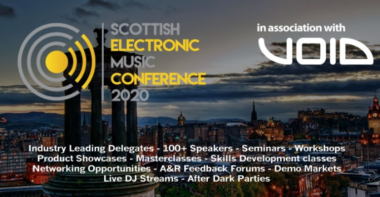 First ever Scottish Electronic Music Conference arrives in July 2020