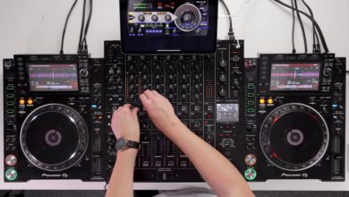 Meet the DJM-V10 – 6 channel club mixer enabling DJs to craft new soundscapes from multiple audio sources
