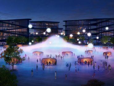 Toyota is building a futuristic 175-acre robotics-focused 'Woven City'