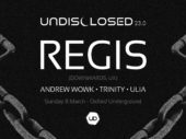 Birmingham techno pioneer Regis returns to Australia in March