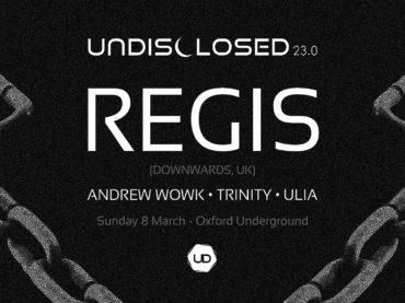 Birmingham techno pioneer Regis returns to Australia in March