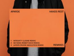 Aparde announces new remix EP featuring remixes from Lusine, Robot Koch, and Ruede Hagelstein