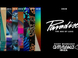 Paradise Ibiza moves to Amnesia for 2020 season