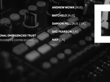 Decoded Magazine teamed up with Deeper Sounds to help raise funds for National Emergencies Trust