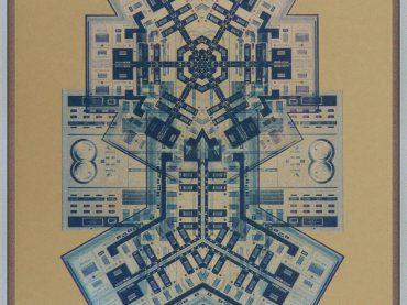 Artist Damon Roberts creates incredible audio themed abstractions