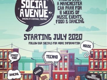 Social Avenue is taking over a car park in Manchester's Trafford Park